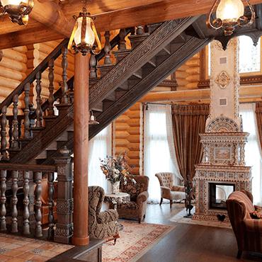 Русский стиль в дизайне