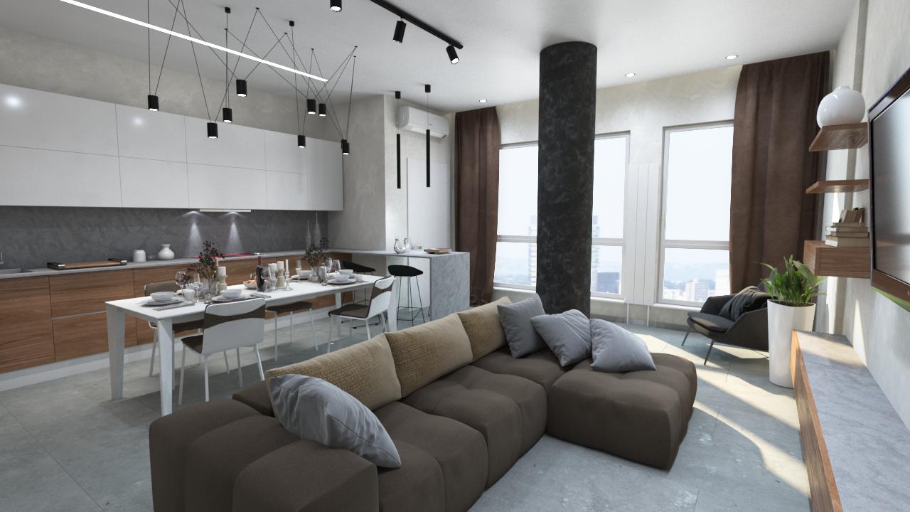 Дизайн квартиры жк Меридиан