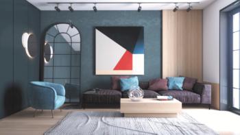 Дизайн интерьера минимализм