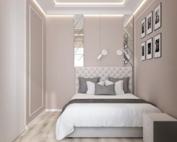 Дизайн спальни Меридиан